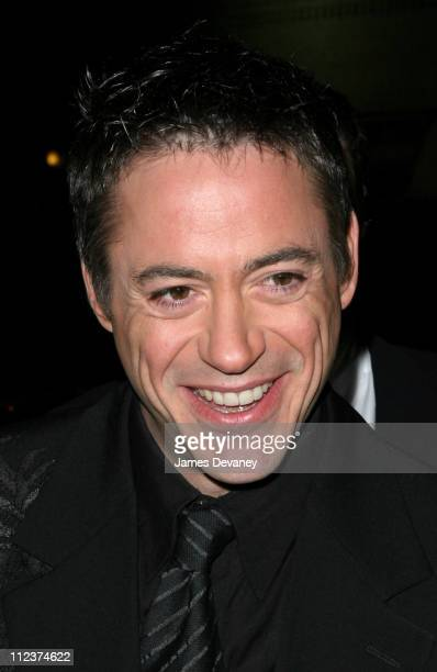 Robert Downey Jr during Robert Downey Jr and Joss Stone Stop By The Late Show with David Letterman at Ed Sullivan Theatre in New York City New York...