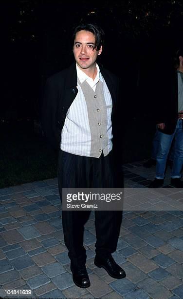 Robert Downey Jr during The 1995 MTV Movie Awards at Warner Bros Studios in Burbank California United States