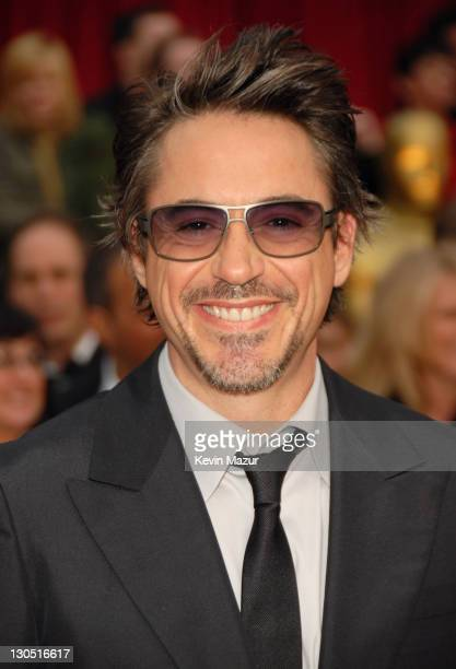 Robert Downey Jr during The 79th Annual Academy Awards Arrivals at Kodak Theatre in Los Angeles California United States