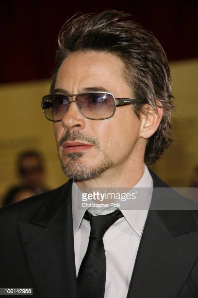 Robert Downey Jr during The 79th Annual Academy Awards Red Carpet at Kodak Theatre in Hollywood California United States