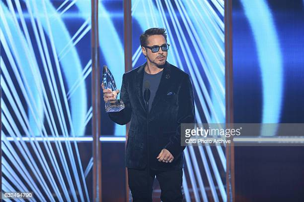 ACTOR Robert Downey Jr during the PEOPLE'S CHOICE AWARDS 2017 the only major awards show where fans determine the nominees and winners across...