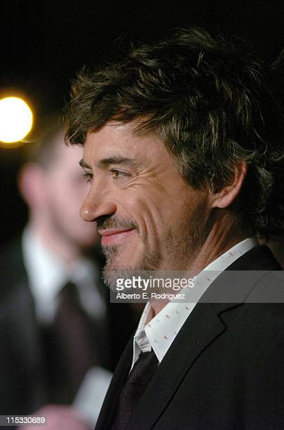 Robert Downey Jr during 'Zodiac' Los Angeles Premiere Arrivals at Paramount Studios in Hollywood California United States