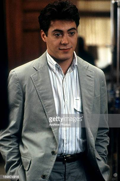 Robert Downey Jr in a scene from the film 'Chances Are' 1989