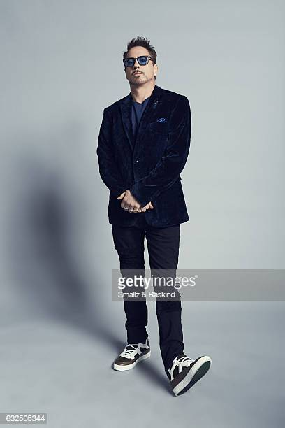 Robert Downey Jr poses for a portrait at the 2017 People's Choice Awards at the Microsoft Theater on January 18 2017 in Los Angeles California