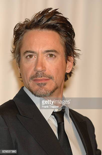 Robert Downey Jr., presenter for Best Visual Effects, in the press room at the 79th annual Academy Awards�� held at the Kodak Theatre.