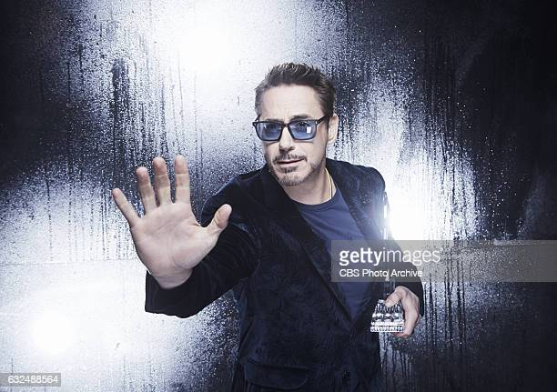 Robert Downey Jr visits the CBS Photo Booth during the PEOPLE'S CHOICE AWARDS the only major awards show where fans determine the nominees and...