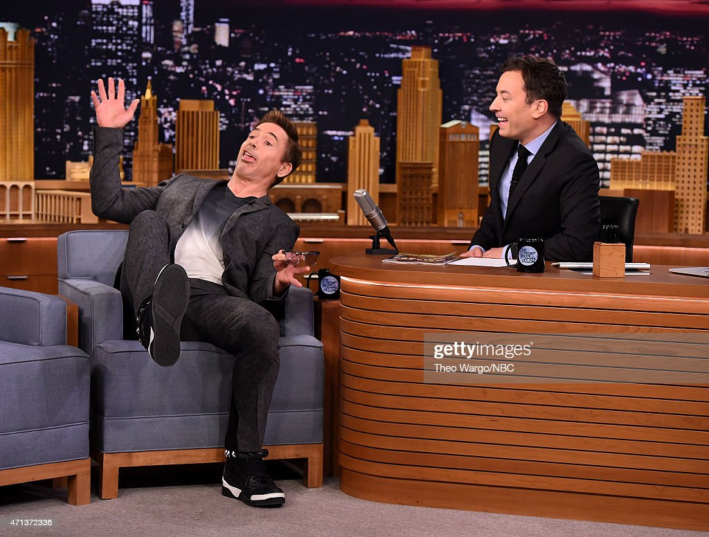 "Robert Downey Jr. Visits ""The Tonight Show Starring Jimmy Fallon"""