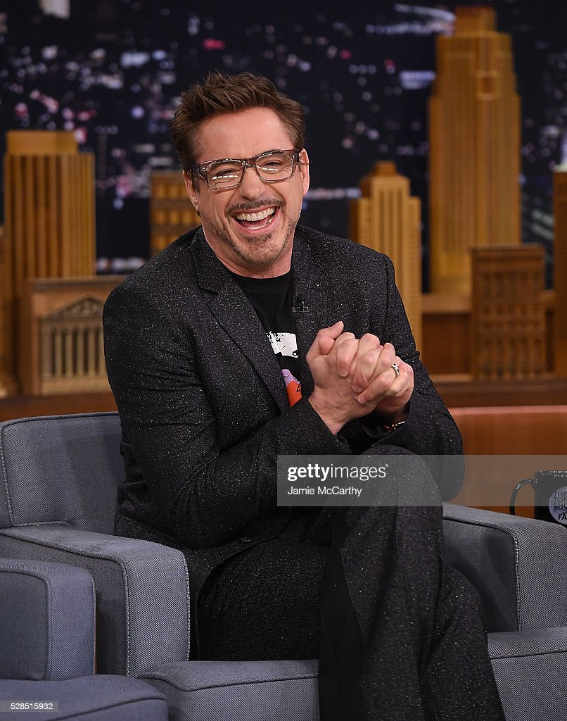 "Robert Downey Jr Visits ""The Tonight Show Starring Jimmy Fallon"""