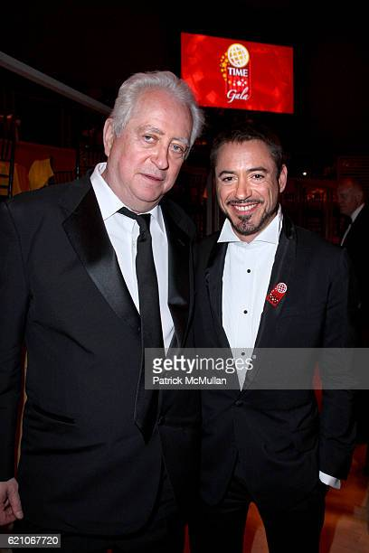 Robert Downey Sr and Robert Downey Jr attend TIME MAGAZINE'S 100 MOST INFLUENTIAL PEOPLE IN THE WORLD at Jazz @ Lincoln Center on May 8 2008 in New...