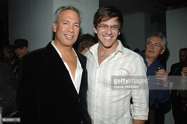 Robert Duffy and Dan Renzi attend MARC JACOBS After Party at Gramercy Park Hotel on September 11 2006 in New York City