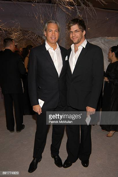 Robert Duffy and Dan Renzi attend 'SEVENTH ON SALE' Benefit For HIV/AIDS at Skylight Studios on November 10 2005 in New York City