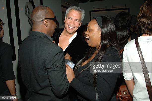 Robert Duffy and Pat McGrath attend MARC JACOBS After Party at Gramercy Park Hotel on September 11 2006 in New York City
