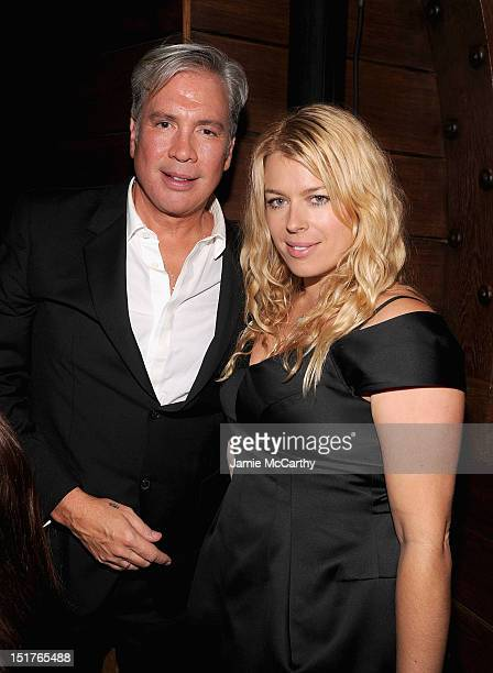 Robert Duffy CEO of Marc Jacobs and Amanda De Cadenet attend the Marc Jacobs Spring 2013 MercedesBenz Fashion Week After Party at the New York Yacht...