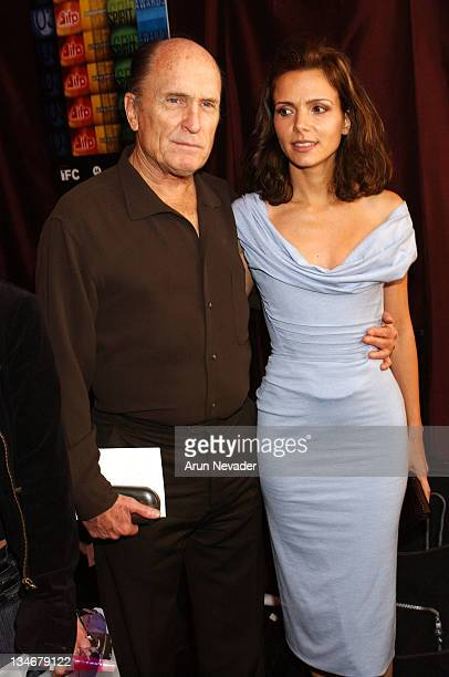 Robert Duvall and Luciana Pedraza during The 18th Annual IFP Independent Spirit Awards Official Talent Gift Bag Produced by On 3 Productions at Santa...