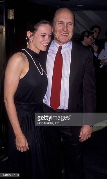 Robert Duvall and Sharon Brophy attend Ballroom Week Gala Tea Dance on May 31 1990 at the Waldorf Hotel in New York City