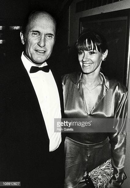 Robert Duvall and Sharon Brophy during After Party For The Premiere of Full Moon In Blue Water at Peter Max's Studio in New York City New York United...