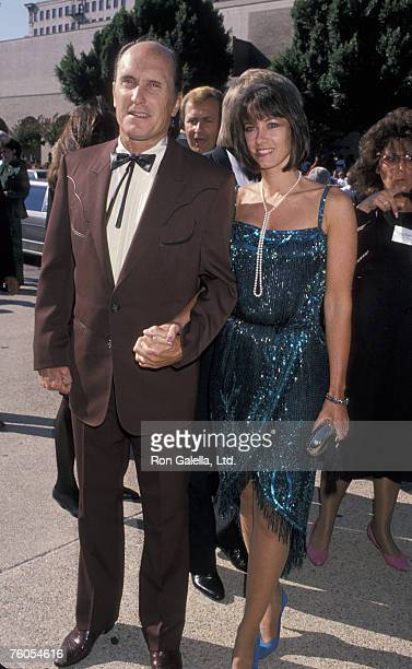 Robert Duvall and Sharon Brophy