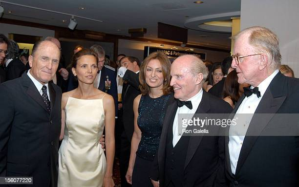 Robert Duvall and wife Luciana Suzy Wetlaufer Jack Welch and John McLaughlin