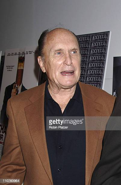 "Robert Duvall during ""Thank You For Smoking"" New York Premiere - Inside Arrivals - March 12, 2006 at Museum of Modern Art in New York City, NY,..."
