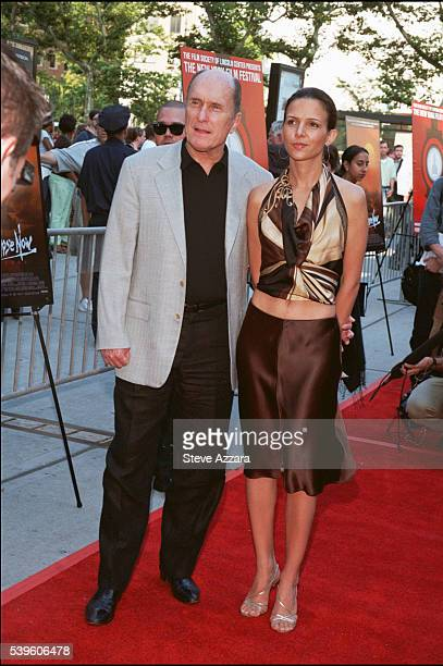 Robert Duvall with his fiancee Luciana Pedraza