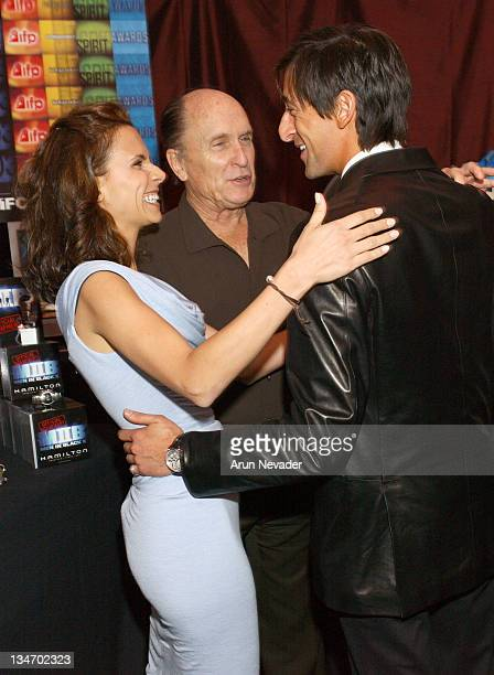 Robert Duvall with Luciana Pedraza and Adrien Brody