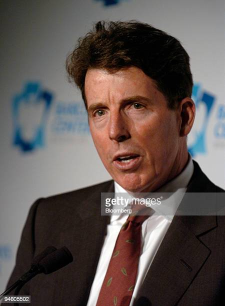 Robert E Diamond Jr president of Barclays Plc speaks at a news conference in the Brooklyn borough of New York Thursday January 18 2007 Barclays Plc...