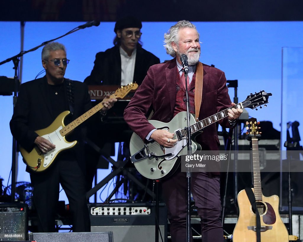 Robert Earl Keen performs in concert during the 'Deep From The Heart: One America Appeal Concert' at Reed Arena on October 21, 2017 in College Station, Texas.