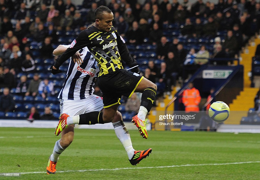 West Bromwich Albion v Cardiff City - FA Cup Third Round : News Photo