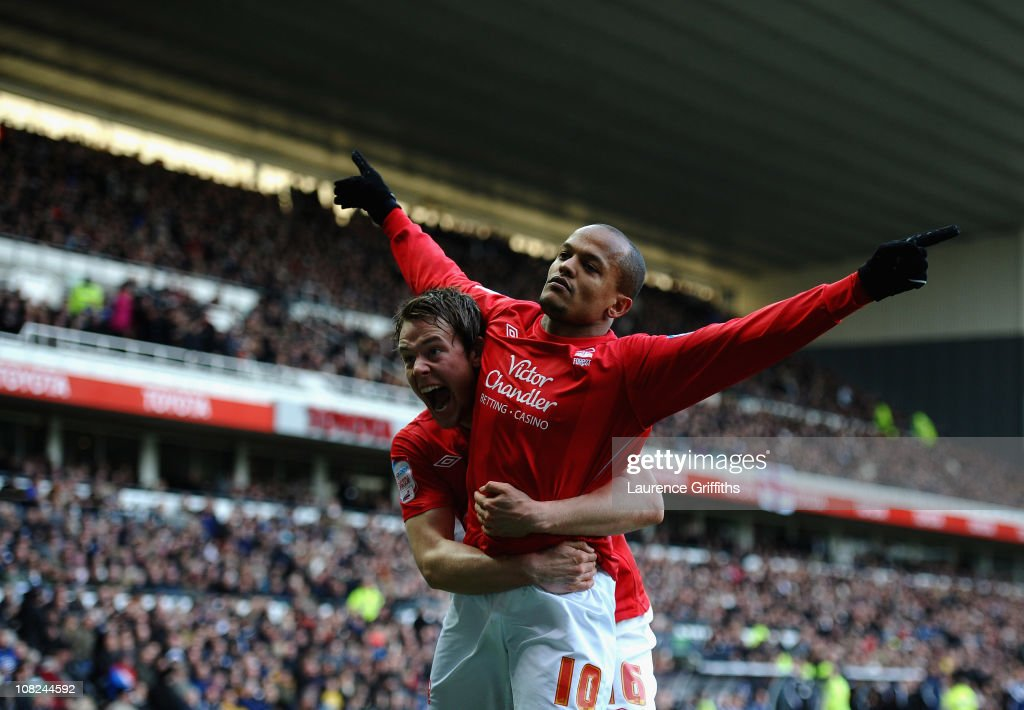 Derby County v Nottingham Forest - npower Championship : News Photo