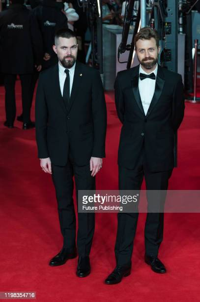 Robert Eggers and Jarin Blaschke attend the EE British Academy Film Awards ceremony at the Royal Albert Hall on 02 February 2020 in London England...