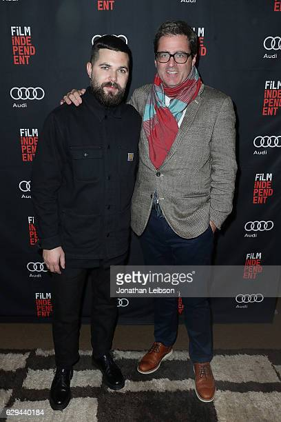 Robert Eggers and Josh Welsh attend Audi and Film Independent present A24's The Witch at NeueHouse Hollywood on December 12 2016 in Los Angeles...