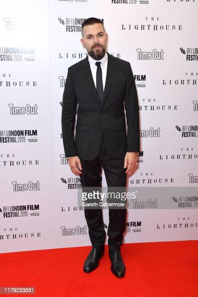 Robert Eggers attends The Lighthouse UK Premiere during the 63rd BFI London Film Festival at the Odeon Luxe Leicester Square on October 05 2019 in...
