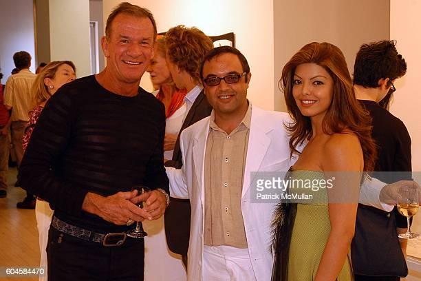 Robert Eigelberger, Harry Stendhal and Maya Stendhal attend Hans Richter - Dada: Art And Anti Art at Maya Stendhal Gallery on June 15, 2006 in New...