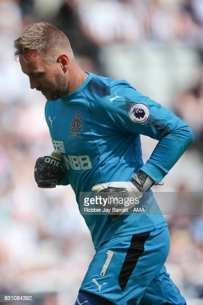 Robert Elliot of Newcastle United during the Premier League match between Newcastle United and Tottenham Hotspur at St James Park on August 13 2017...