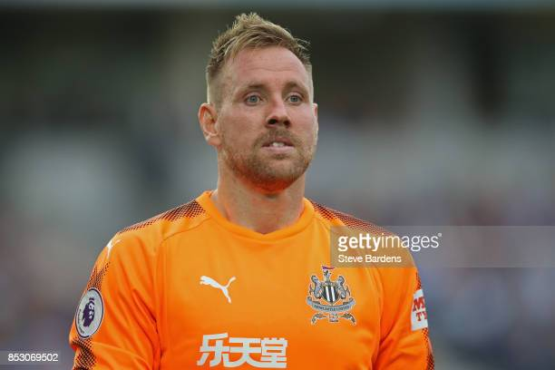 Robert Elliot of Newcastle United during the Premier League match between Brighton and Hove Albion and Newcastle United at Amex Stadium on September...