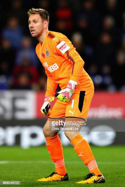 Robert Elliot of Newcastle United in action during the Premier League match between Burnley and Newcastle United at Turf Moor on October 30 2017 in...