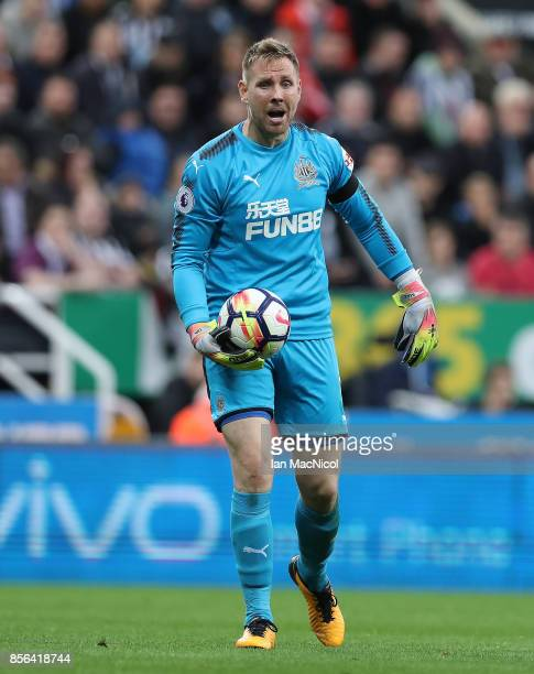 Robert Elliot of Newcastle United is seen during the Premier League match between Newcastle United and Liverpool at St James Park on October 1 2017...