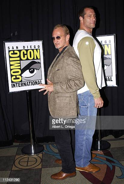 Robert Englund and Ken Kirzinger during 2003 San Diego Comic Con International Day Three at The San Diego Convention Center in San Diego California...