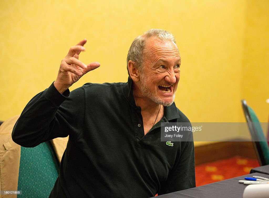 Robert Englund attends Horrorhound Weekend at Marriott Indianapolis on September 8, 2013 in Indianapolis, Indiana.