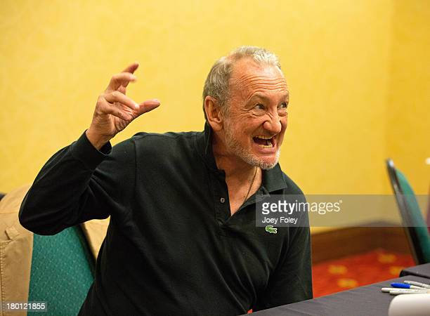 Robert Englund attends Horrorhound Weekend at Marriott Indianapolis on September 8 2013 in Indianapolis Indiana