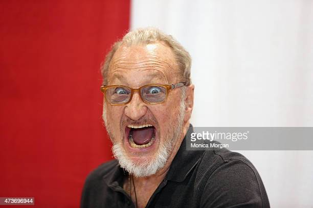 Robert Englund posing in character at Motor City Comic Con at Suburban Collection Showplace on May 16 2015 in Novi Michigan