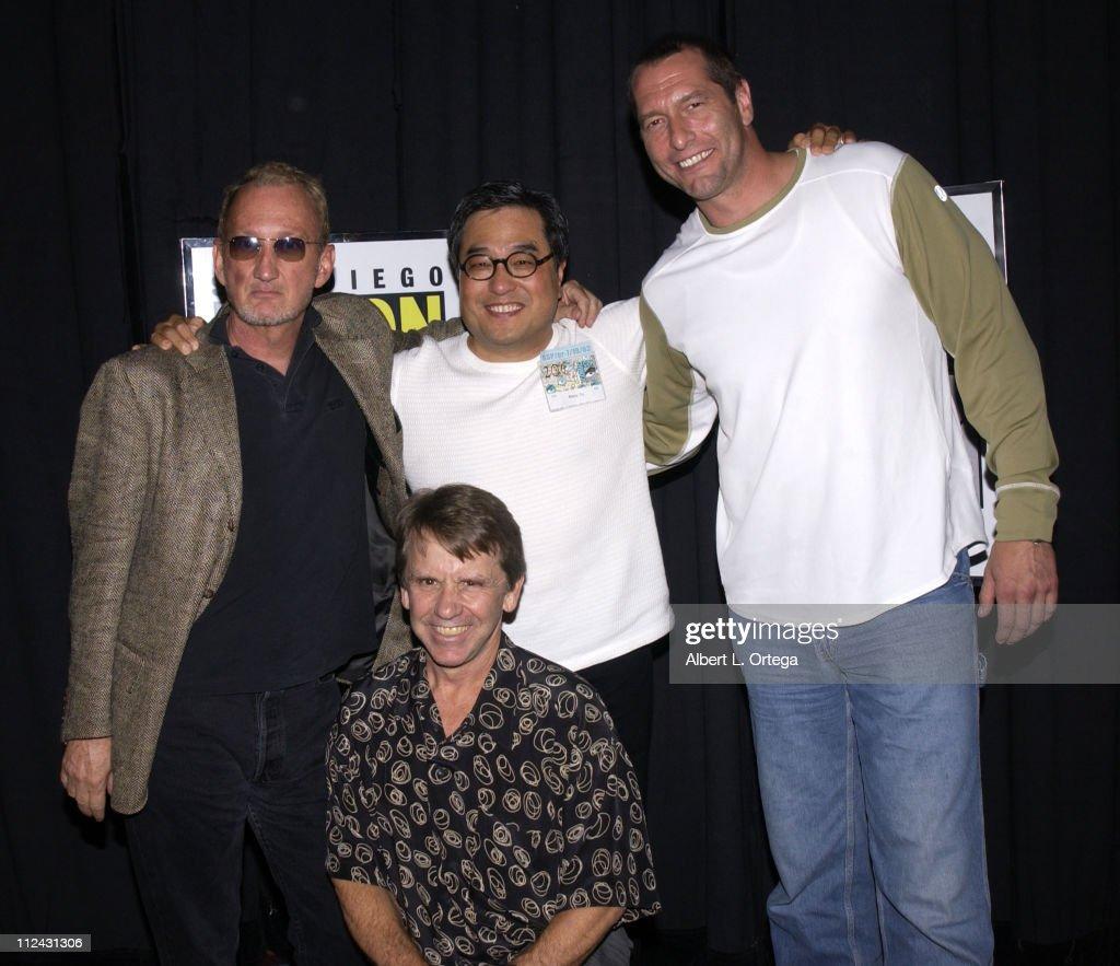 2003 San Diego Comic Con International - Day Three : News Photo