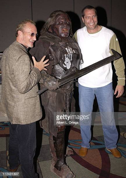 Robert Englund Sala Baker Ken Kirzinger during 2003 San Diego Comic Con International Day Three at The San Diego Convention Center in San Diego...
