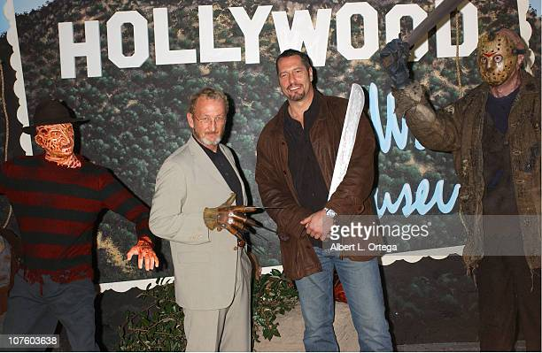 Robert Englund with Freddy Krueger and Ken Kirzinger with Jason Voorhees