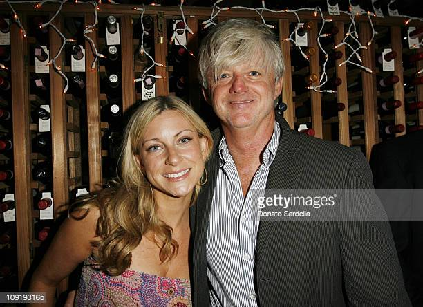 Robert Erdmann and Laura Brounstein during Self Magazine Dinner for New Entertainment Director Laura Brounstein at Il sole in West Hollywood...