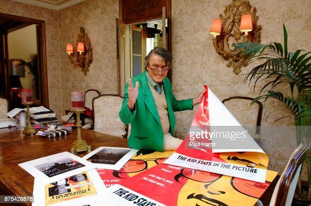 Robert Evans Actor director producer and author at home in Beverly Hills The veteran Hollywood celebrity lives in a private gated home once owned by...