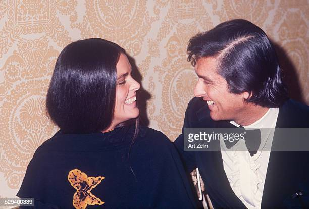 Robert Evans and Ali MacGraw circa 1970 New York