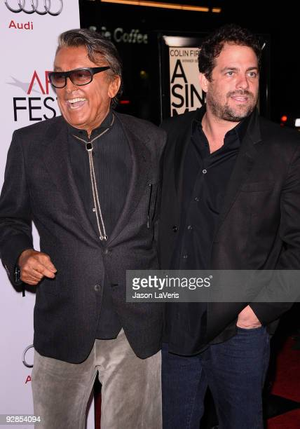"""Robert Evans and Brett Ratner attend the AFI Fest 2009 premiere of """"A Single Man"""" at Grauman's Chinese Theatre on November 5, 2009 in Hollywood,..."""