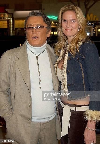 Robert Evans and LeslieAnn Woodward