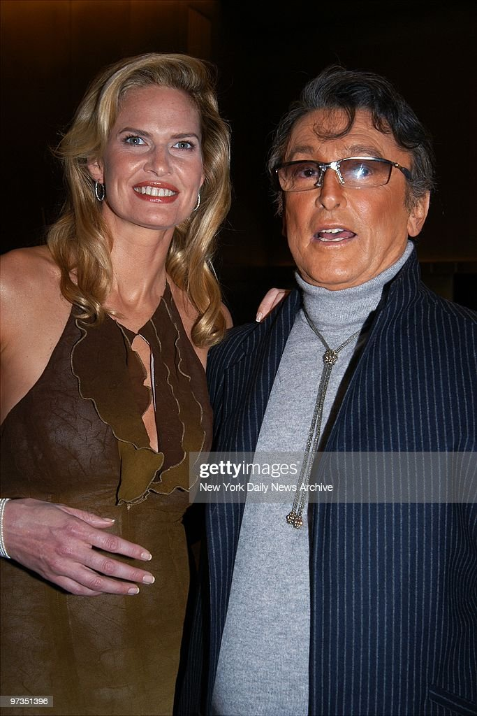 Robert Evans and wife Leslie-Ann Woodward are on hand at the : Nachrichtenfoto
